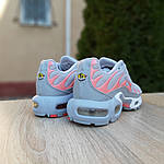 Женские кроссовки Nike TN Plus РЕФЛЕКТИВ (серые) 20025, фото 7