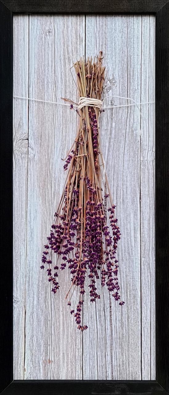 """Фотокартина в деревянной раме """"Lavend 2"""", 20х50 см"""