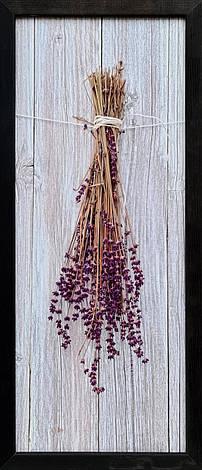 """Фотокартина в деревянной раме """"Lavend 2"""", 20х50 см, фото 2"""