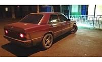 Ветровики Mercedes Benz 190 (W201) Sd 1982-1993  дефлекторы окон