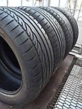 Шины б/у 225/50 R17 Dunlop SP Sport 01, ЛЕТО, 5+ мм, пара/комплект, фото 2