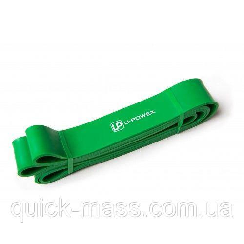 Резиновая петля для подтягиваний и фитнеса U-Powex Зеленая UP005