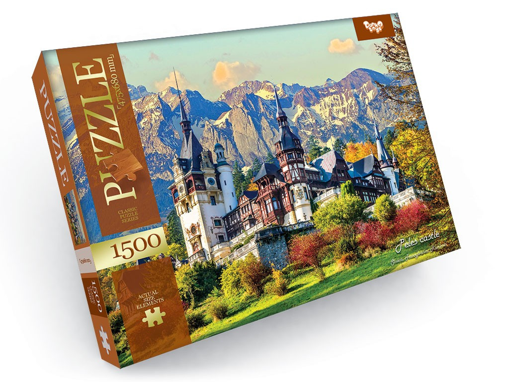 Пазли 1500 елементів 2 серія Danko Toys (С1500-02-07)