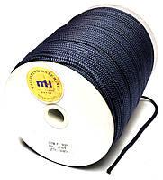 Шнур круглый 4мм Темно синий одежный 150м