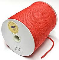 Шнур круглый 4мм Красный одежный 150м