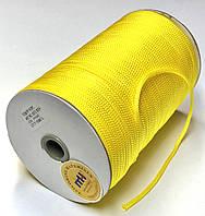 Шнур круглый 4мм Желтый одежный 150м