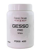 Грунт акриловий універсальний - Gesso - білий - Fabrika Decoru - 400 мл.