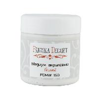 Медіум акриловий - білий - Fabrika Decoru - 150 мл.