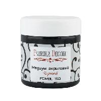 Медіум акриловий - чорний - Fabrika Decoru - 150 мл.