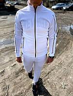 Мужской спортивный костюм Двойка (белый), фото 1