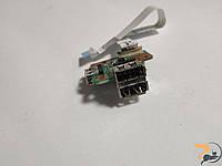 Додаткова плата, з USB роз'ємами, для ноутбука Fujitsu Siemens Esprimo V6535, 55.4j002.001, б/в, без пошкоджень