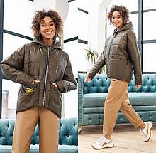 Жіноча демісезонна куртка М-202, р-ри 42-48