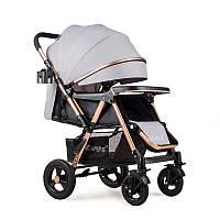 Прогулянкова коляска Ninos Maxi Light Grey