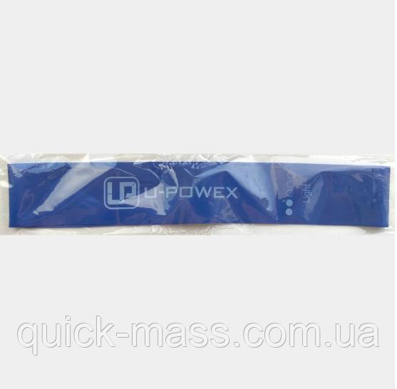 Фитнес резинки U-powex Синяя