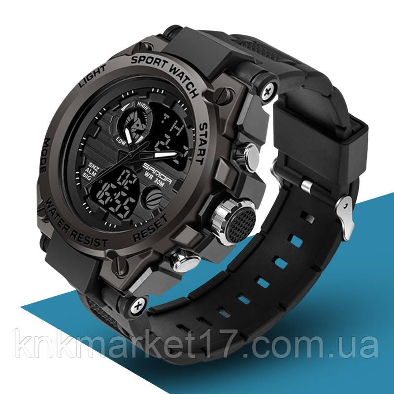 Мужские спортивные часы Sanda 739 All Black