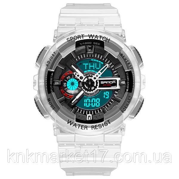 Мужские спортивные часы Sanda 298 Black