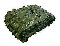 Сітка маскувальна двостороння Camonet Зелена двоколірна  PE, фото 1
