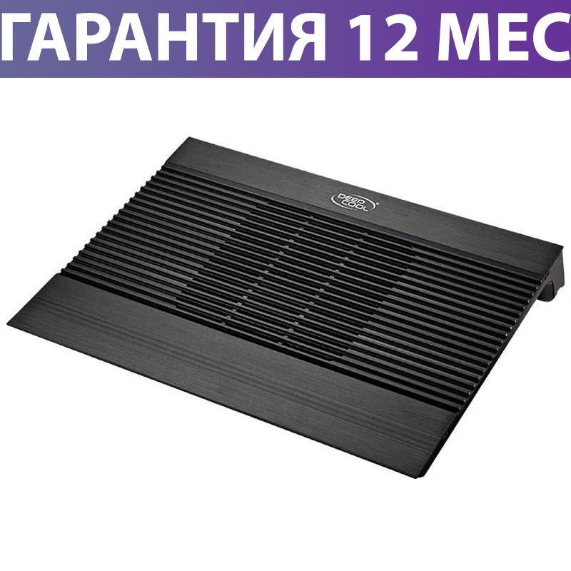 """Охлаждающая подставка для ноутбука 15.6"""" DeepCool N8 Mini, Black, 2 порта USB, вентилятор, 340х275х60 мм"""