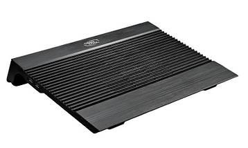 """Охлаждающая подставка для ноутбука 15.6"""" DeepCool N8 Mini, Black, 2 порта USB, вентилятор, 340х275х60 мм, фото 3"""