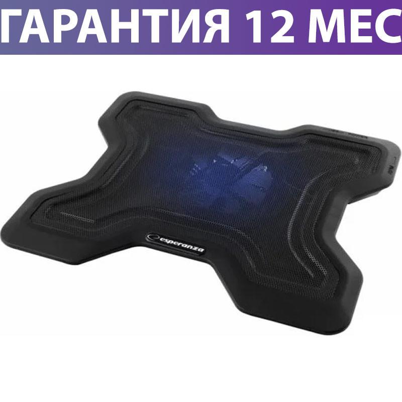"""Охлаждающая подставка для ноутбука 15.6"""" Esperanza EA109 Chi, порт USB, вентилятор, 365х290х54 мм, 640 г"""