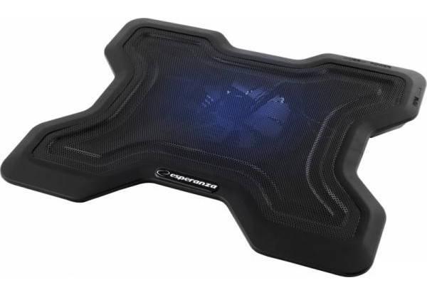 """Охлаждающая подставка для ноутбука 15.6"""" Esperanza EA109 Chi, порт USB, вентилятор, 365х290х54 мм, 640 г, фото 2"""