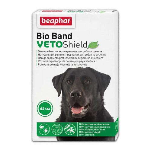Ошейник Beaphar против блох и клещей для собак, Био, 65 см