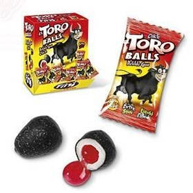 "Жувальна гумка ""Torо Balls GUM FINI"", яйця бика 5 грам."