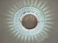 Встраиваемый светильник с светодиодной подсветкой 8129WH
