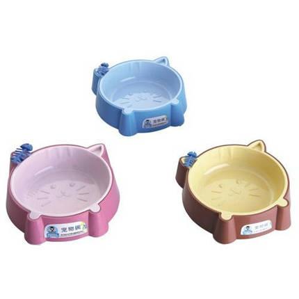 Пластиковая миска AnimAll для кошек S, 200 мл, голубая, фото 2