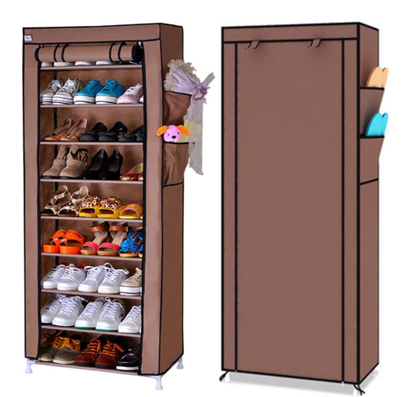 Стеллаж для хранения обуви JBY . TOPY 60 X 30 X 160 на 10 пол