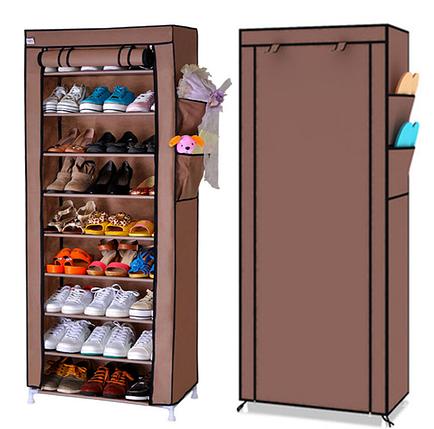 Стеллаж для хранения обуви JBY . TOPY 60 X 30 X 160 на 10 пол, фото 2