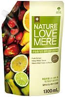 """NATURE LOVE MERE - Кондиционер c экстрактом фруктов для стирки детской одежды """"Fruit Baby"""", 1.3 л"""