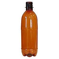 ПЭТ Бутылка Коричневая 0,5 л. Ø 28 мм.