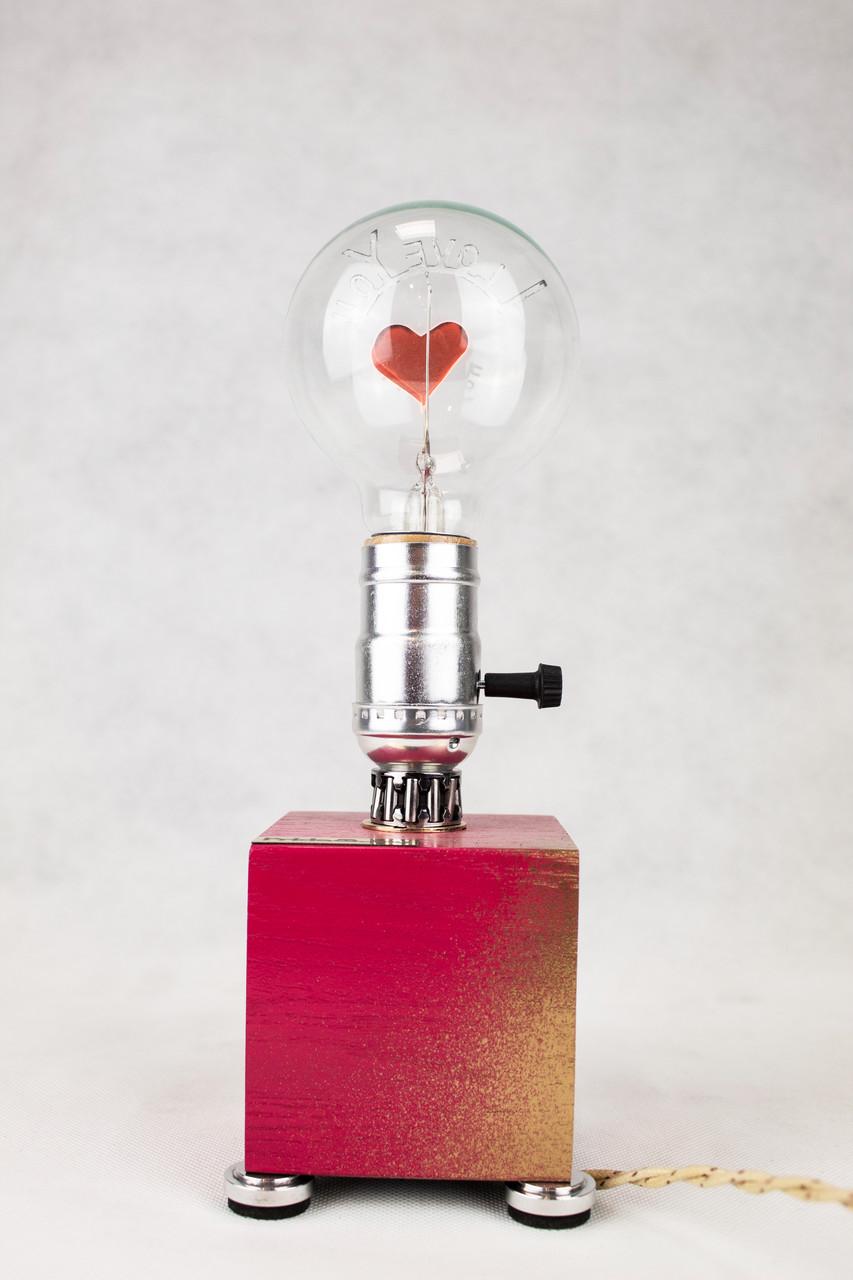 Настільна лампа Pride&Joy Love