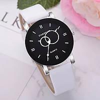 Жіночий  кварцовий водонепроникний наручний годинник високої якості Relogio з шкіряним рожевим ремінцем