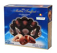 Цукерки Maitre Truffout, sea shells BLUE, праліне, 250г