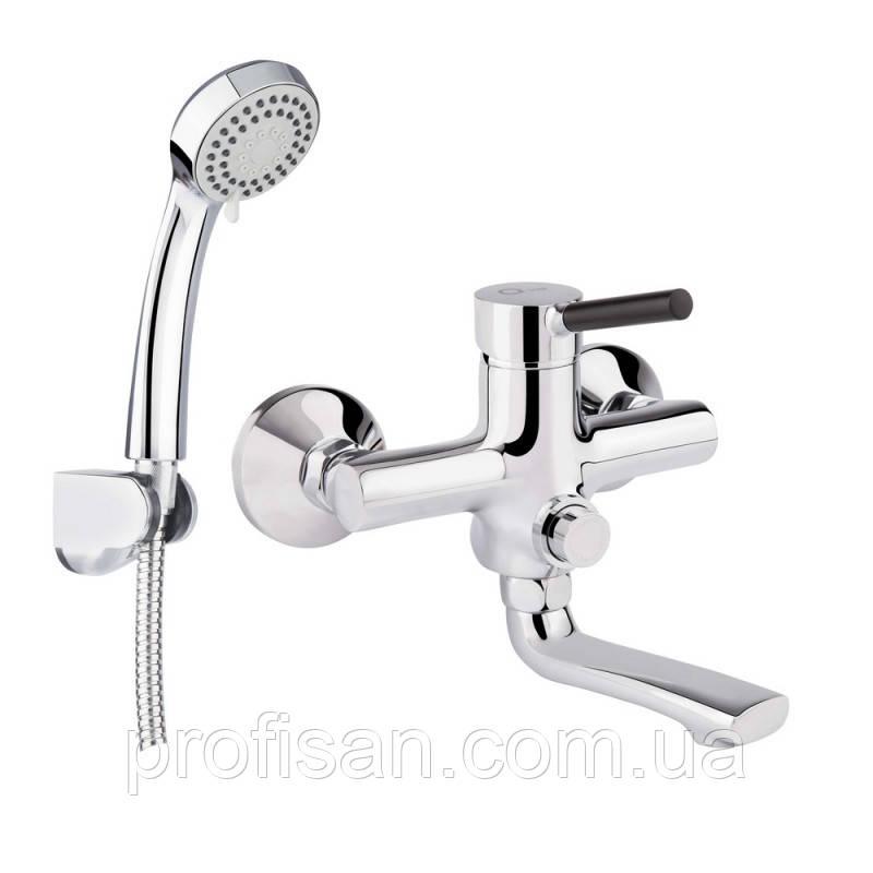 Смеситель для ванны Q-tap Inspai CRM 005BN