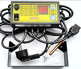 Комплект автоматики для твердопаливного котла АТОЅ + WPA-Х2 з діафрагмою (Польща), фото 5