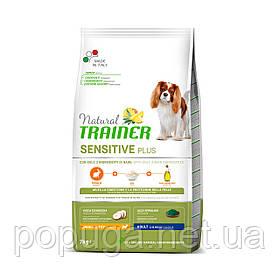 Natural Trainer Dog Sensitive Plus Adult Mini With Rabbit корм для взрослых собак мелких пород с КРОЛИКОМ, 7кг