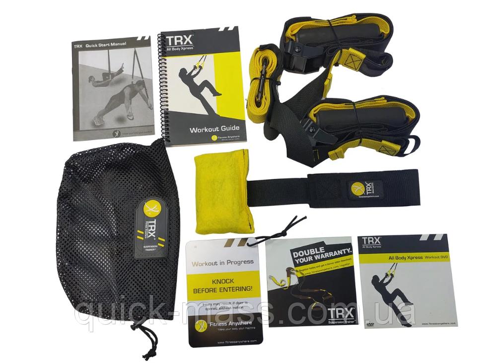 Петли подвесные для функционального тренинга Петли TRX Suspension Trainer Professional