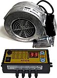 Комплект автоматики для твердопаливного котла АТОЅ + WPA-Х2 з діафрагмою (Польща), фото 3