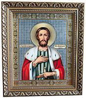 Икона «Святой благоверный князь Александр Невский» (багет)