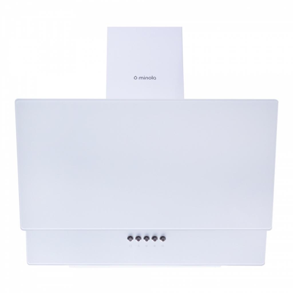 Вытяжка кухонная MINOLA HDN 66112 WH 1000 LED