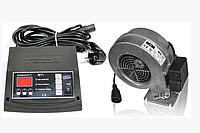 Комплект автоматики Tech ST-24 Sigma + WPA X-2 для дровяного котла (Польша)