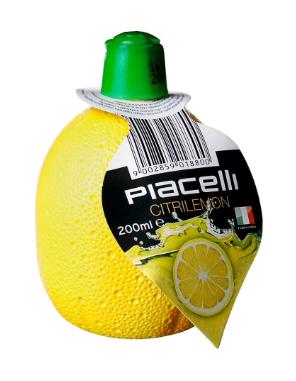 Сік лимонний, PIACELLI,  концентрований 200г