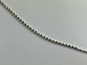 Серебряная цепочка ожерелье Италия