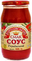"""Томатний соус """"Український"""" твіст 460 гр"""