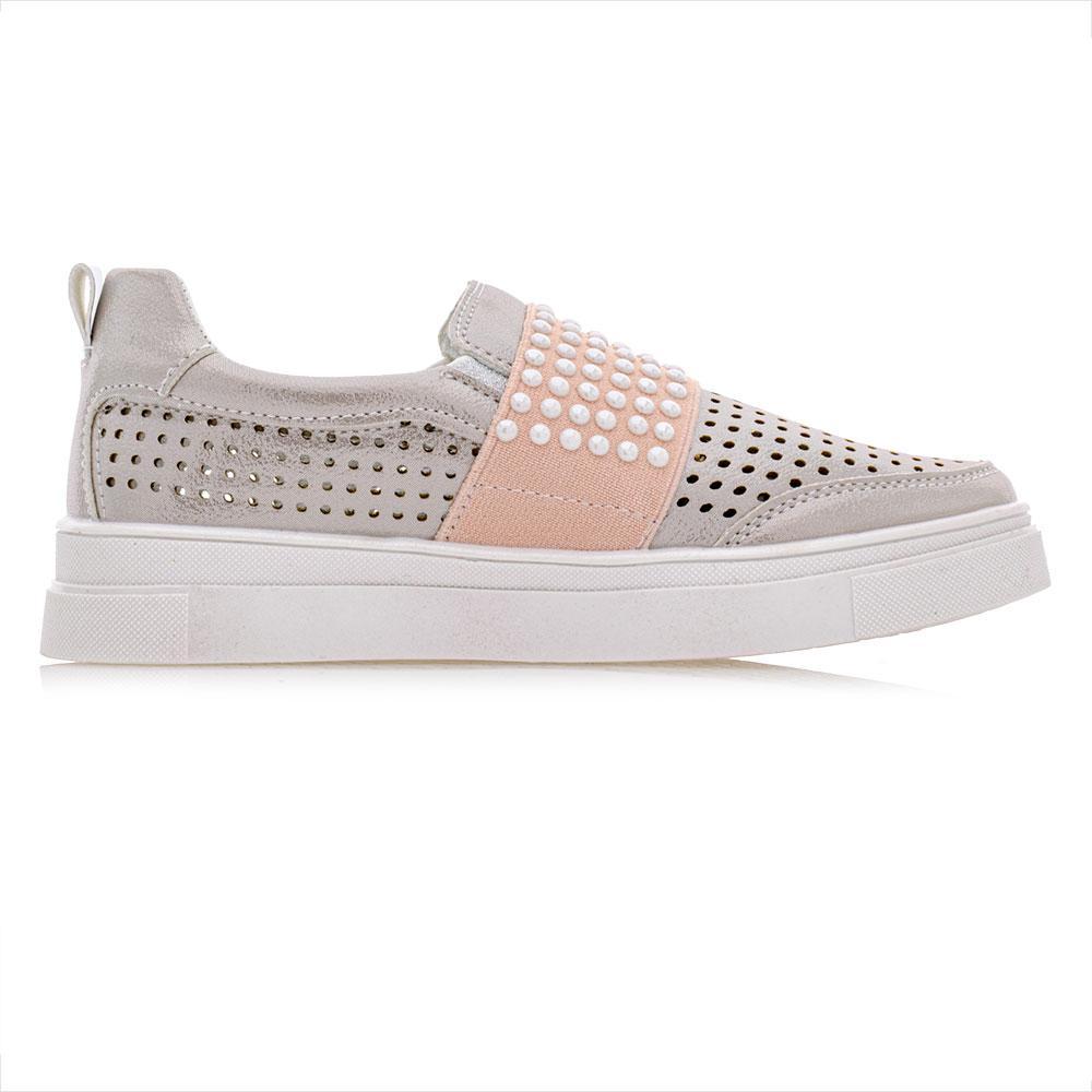 Туфли для девочек Jong Golf 31  бежевый 980975