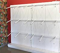 Торгівельний стенд (стеллаж) для одягу в асортименті (по секційно)