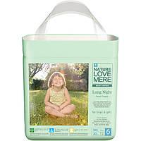 NATURE LOVE MERE - Подгузники-трусики LONG NIGHT PANTS размер XXL, 20 шт, 13+ кг, NLM